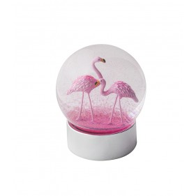 Water Globe - Flamingo