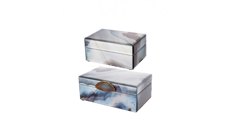 Garda Trinket Box Set Of 2