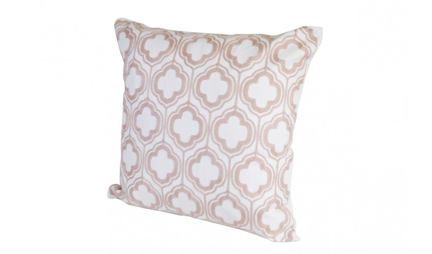 Citterio Crewel Embroidered Cushion