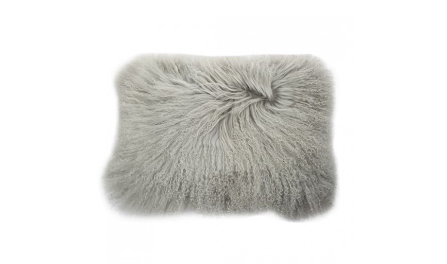 Ethel Lamb Fur Cushion