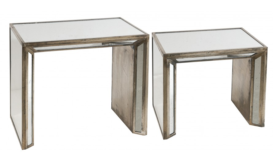 Tribeca Mirror Console Set of 2