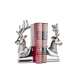 Stratton Deer Head Bookend