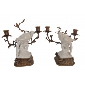 Parson Birde Candle Holder