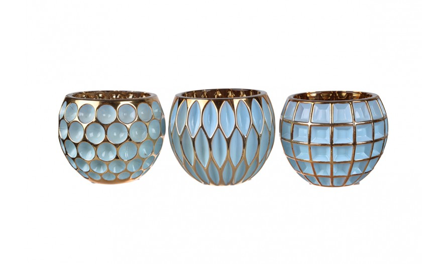Monaco Candle Holder Set of 3