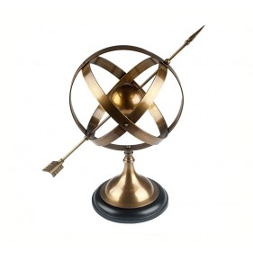 Manolo Arrow Sphere Globe