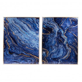 Blue Marble Panel - Set of  2