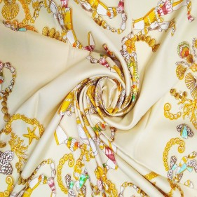 Letty Jewel Silk Scarf