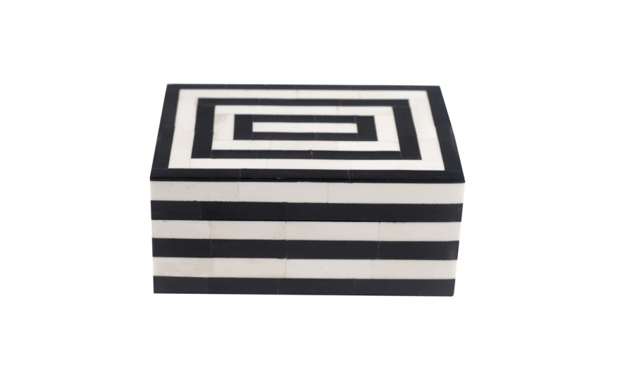 Tribeca Bone Trinket Box