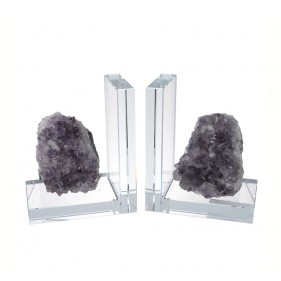 Lexington Quartz Stone Bookends
