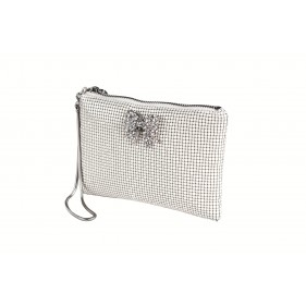 Jolie Bow Mesh Purse